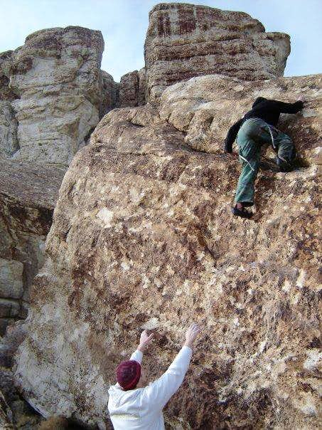 Slab Climbing Ibex High Slab Ibex