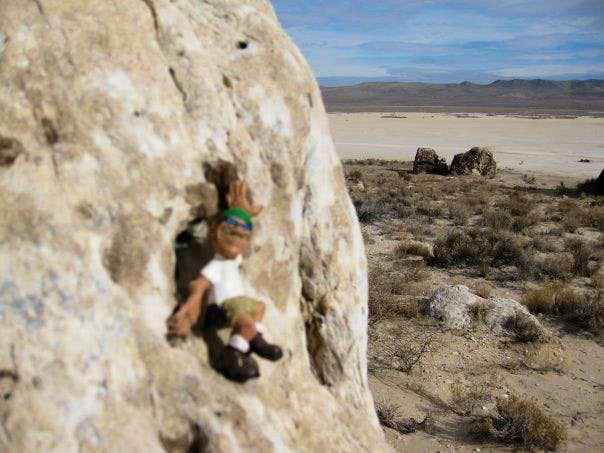 Slab Climbing Ibex Yorkie Climbing Ibex