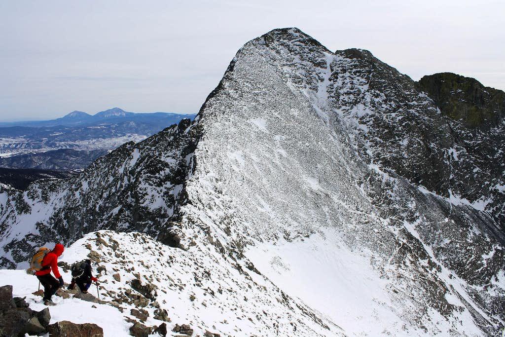 Blanca Peak from Ellingwood Point