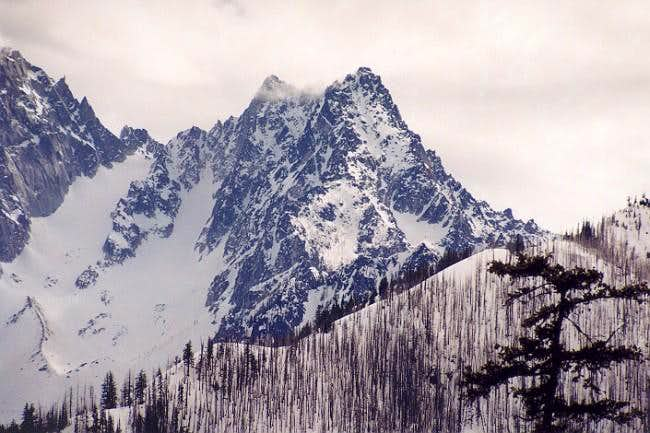 Colchuck Peak from the north...