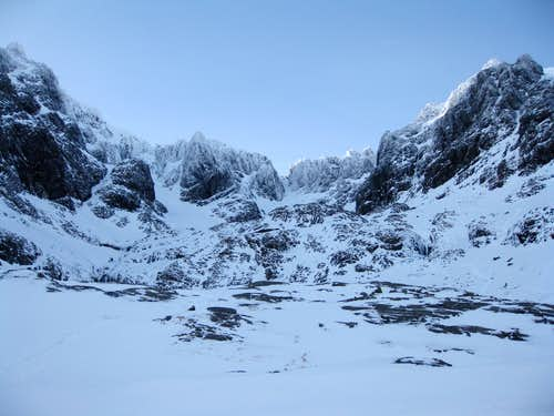 Coire Na Ciste from the CIC Hut beneath Ben Nevis\'s North Side