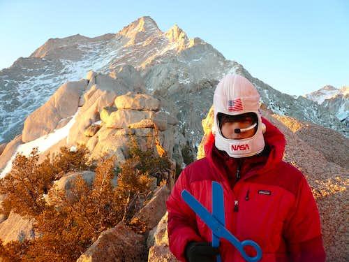 Scotty - winter ascent of CNRLPP