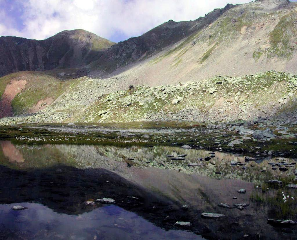 At the foot of Colle Finestra <i>(2729 m)</i>