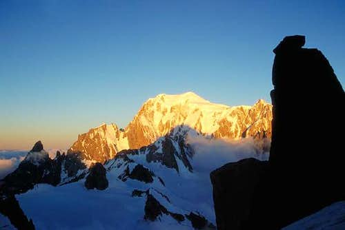 From left to right: Aiguille...