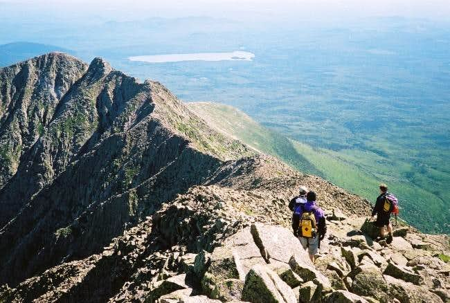 Knife Edge on Katahdin