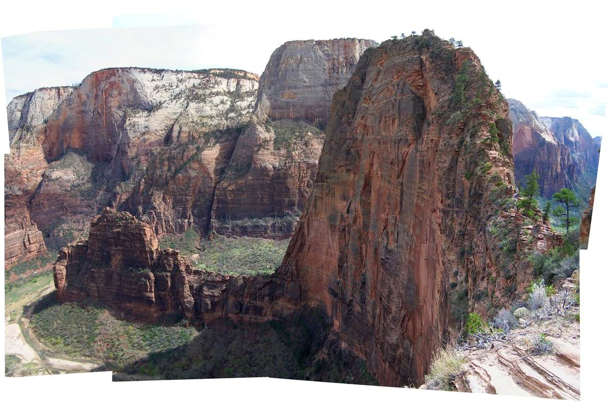 Angels Landing Panorama