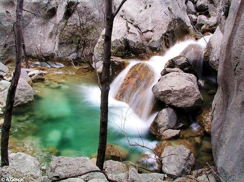 Water in Paklenica