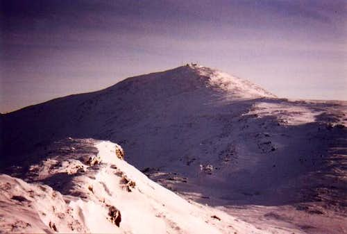 Mt Washington from the summit...