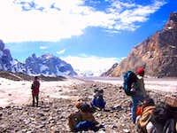 Trekking Biafo Hishper,snow lake.