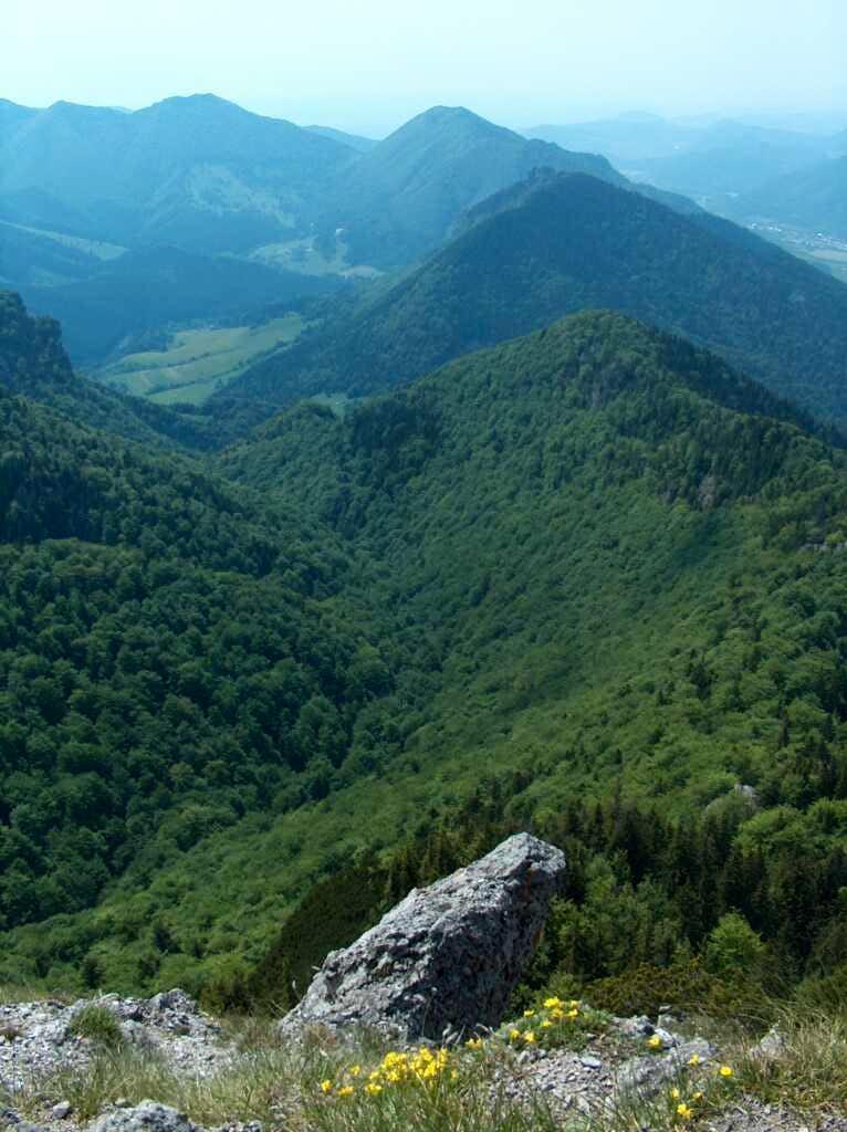 Dolina Vratna from Maly Rozsutec