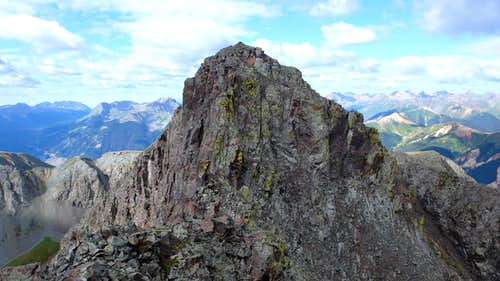 Storm Peak from its east ridge