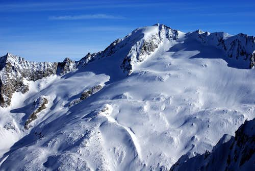 The face covered by shadow(NWF) is our slope for today:)