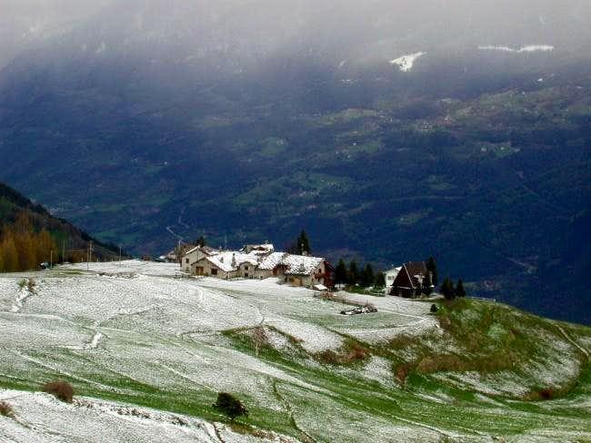 The nice village of Vetan, m....