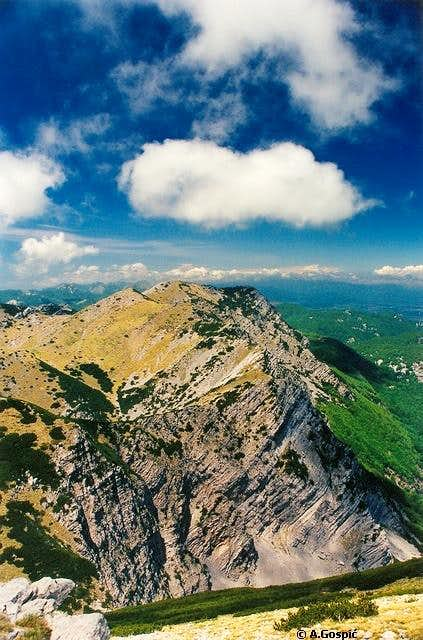 View from highest peak of...