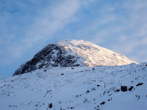 North-West slopes of Ben Nevis