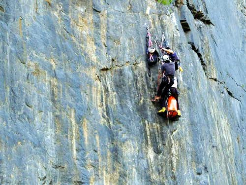 a training for 2005 Meru Expedition