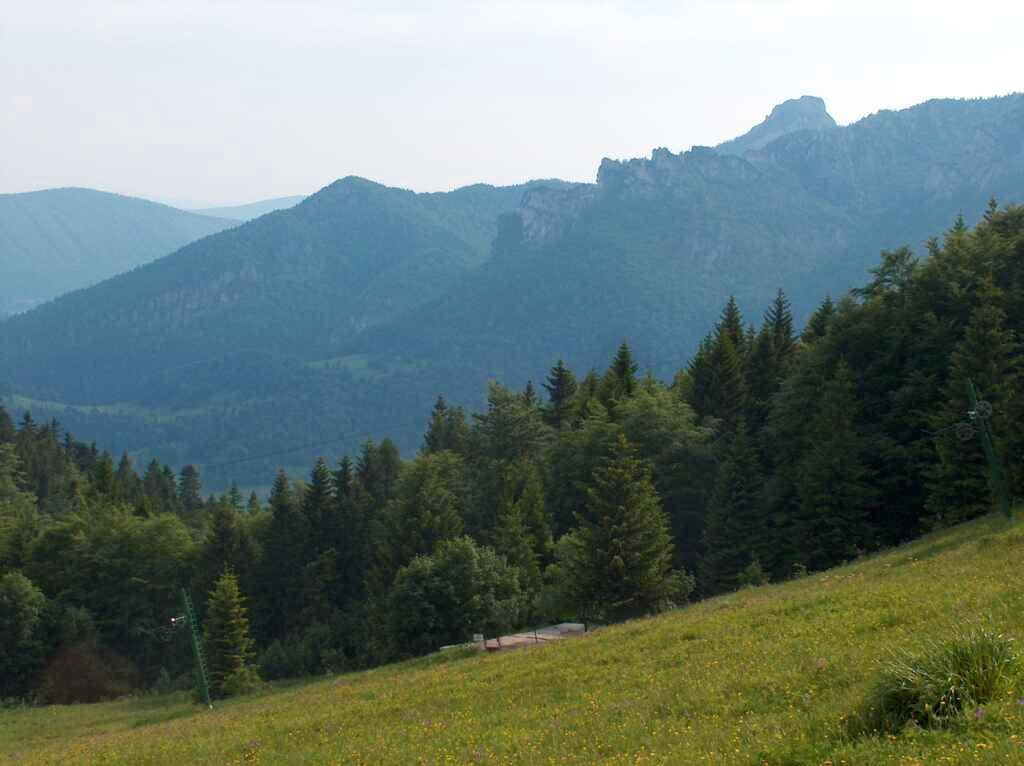 Views to Maly Rozsutec on the way to Poludnový Grún