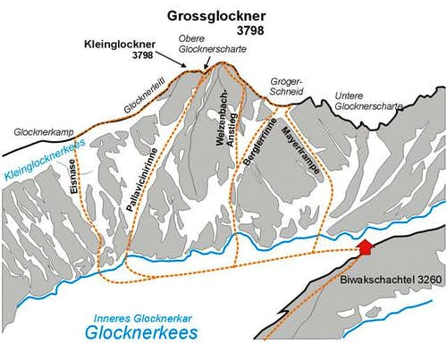 Grossglockner North Face...