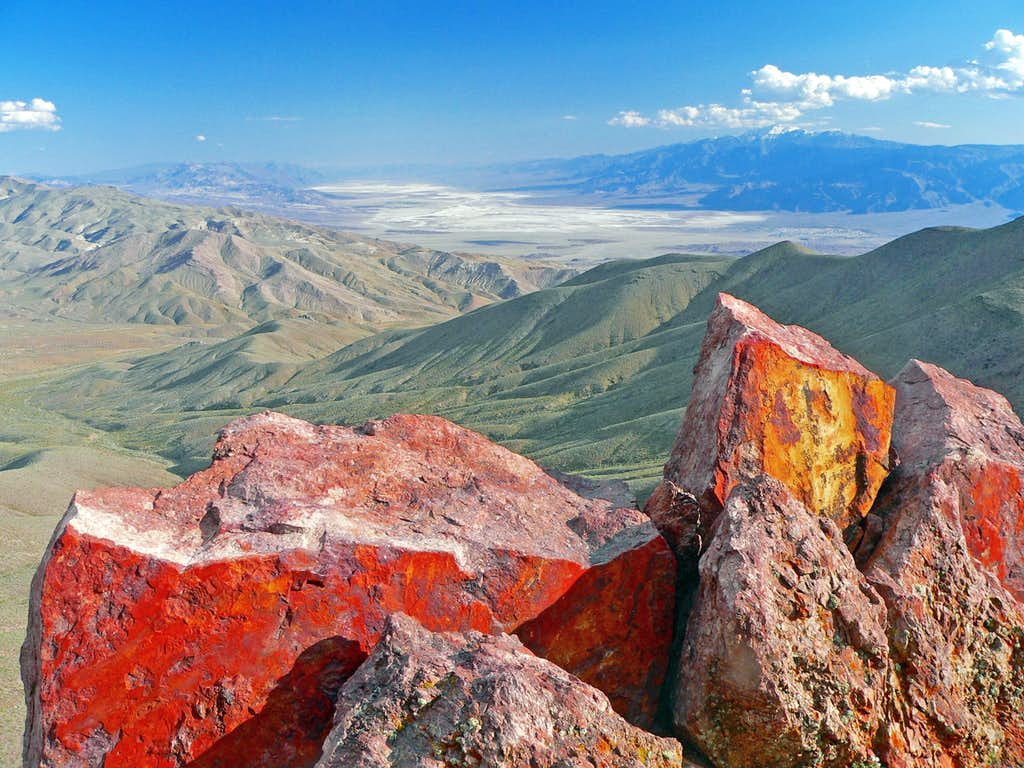 Death Valley south from