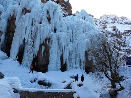 Hamaloon icefall