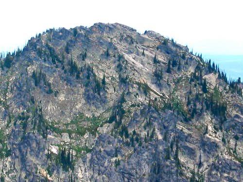 East Face of Chimney Peak