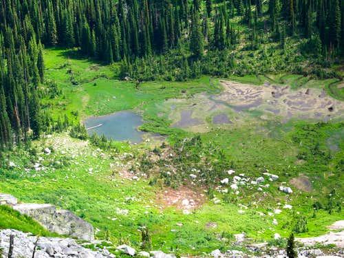 Chimney Peak Pond