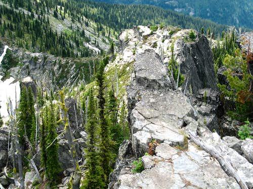 South Ridge Crest of Chimney Peak
