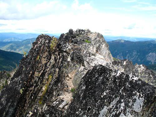Chimney Peak Summit