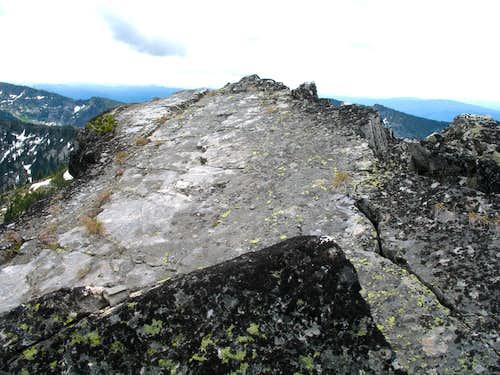 Chimney Summit Sleeping Spot