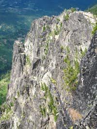 West Cliffs of Chimney Peak