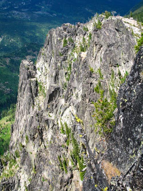 West Cliffs of Chimney Peak
