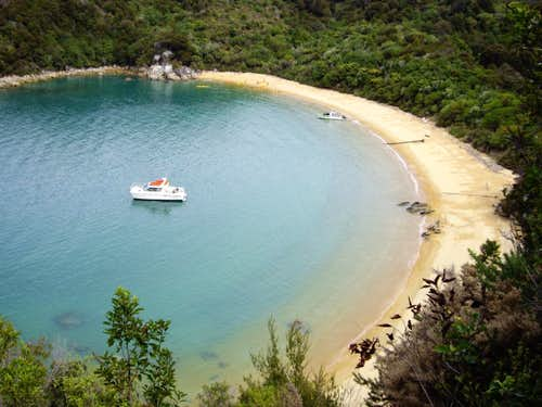 A beautiful Abel Tasman Beach