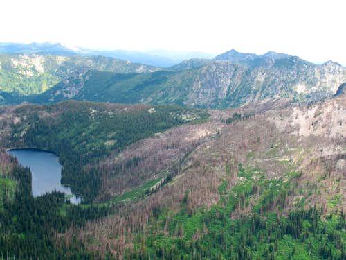 East Peak and Old Man Lake