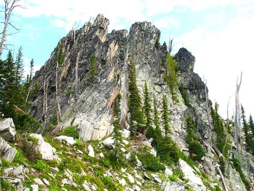 False Summit of Chimney Peak