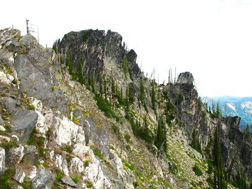South Ridge of Chimney Peak