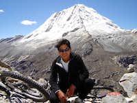 La cara sur de Nevado  Ranrapalca 6162 msn
