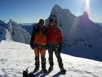 Cumbre del  Nevado  Pisco 5 750 msn