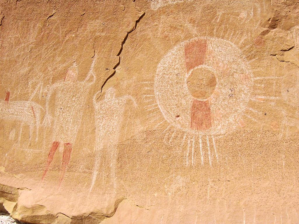 Ute Panel petroglyphs