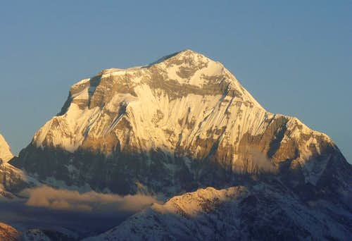 Dhaulagiri south face