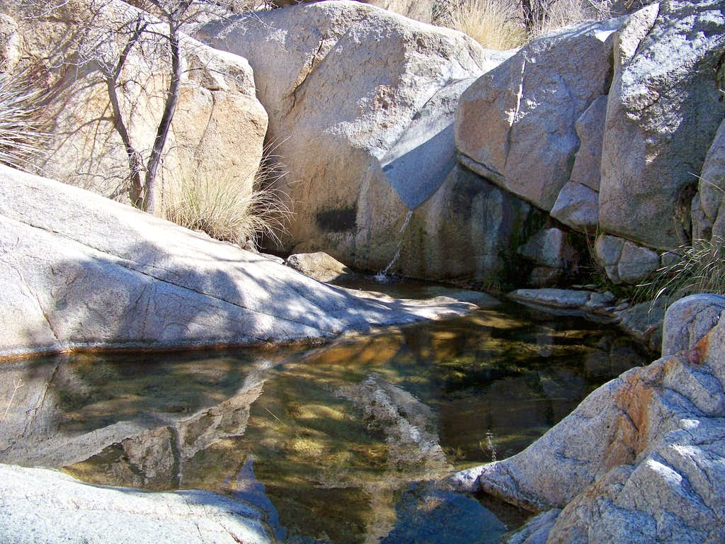 Cool water in the desert