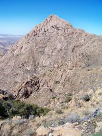 Elephant Head: Hikers Route with Chino Canyon Variation