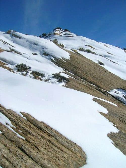 Snow and Sandstone