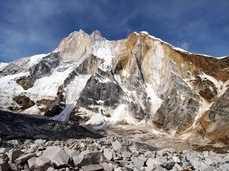 Meru Peak(Shark's Fin,6450m)