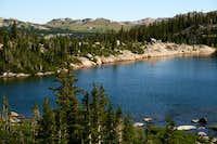 First Sawtooth Lake