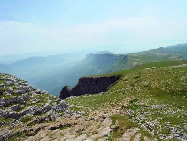 #5. The view of the summit of...