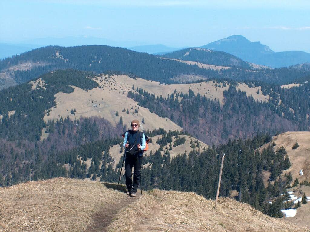Climbing Rakytov. <a href=