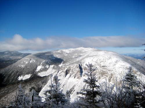 Cannon Mountain and the Kinsmans