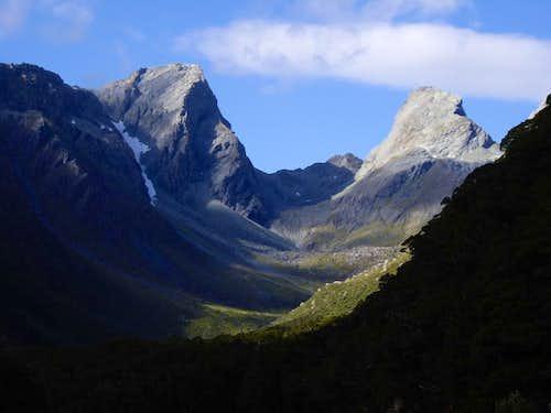 Emily Pass and Peak