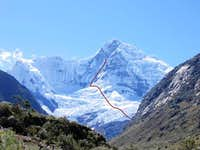 Nevado Huantsan 6359msn.