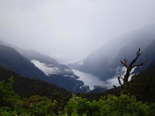 First view of Doubtful Sound